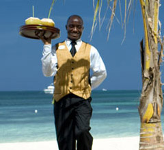 Butler Service © Unique Vacations, Inc.